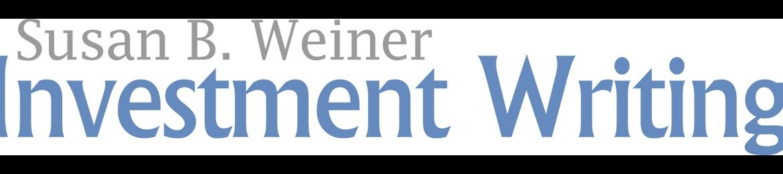 Susan Weiner's cover banner