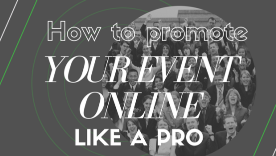 How to promote your event online like a pro