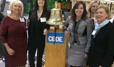 Cboe Exchange Bell Ringing for International Women's Day, sponsored by Women in ETFs
