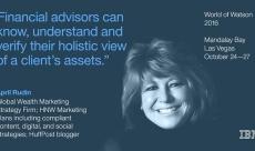 IBM Wealth Management #Fintech Speaker