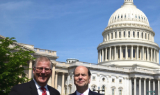 Jeff and Andy at the Capital