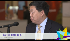Live interview at the 70th CFA Institute Annual Conference in Philly