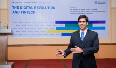 Sameer speaks at CFA Society, Bangladesh